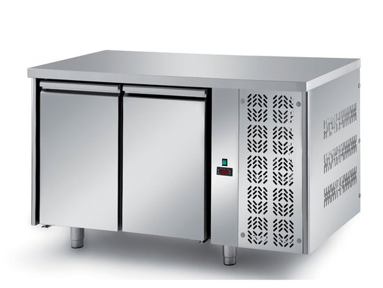 refrigerated ventilated tables with motor, 2 doors mod. fgl1