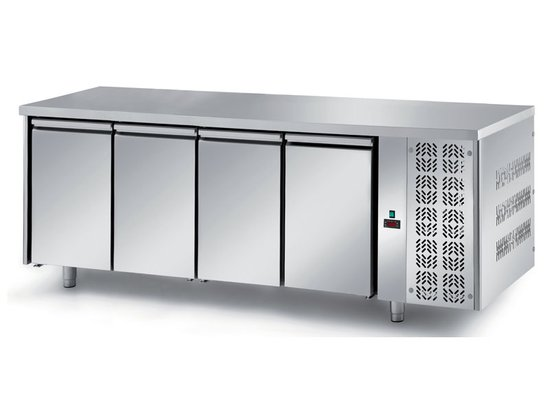 refrigerated ventilated tables with motor, 4 doors mod. fgn1