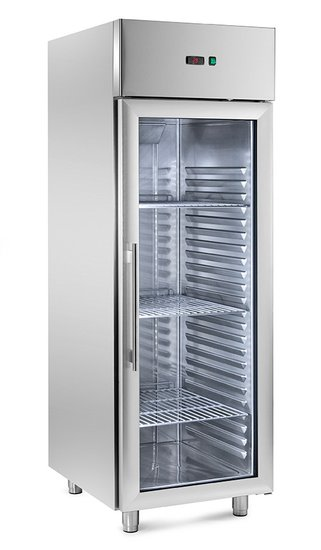 refrigerated ventilated cabinets with 1 glass door -2°/10°c