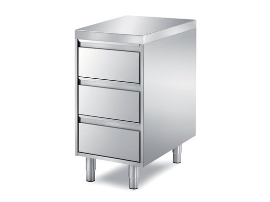 unit with 3 drawers
